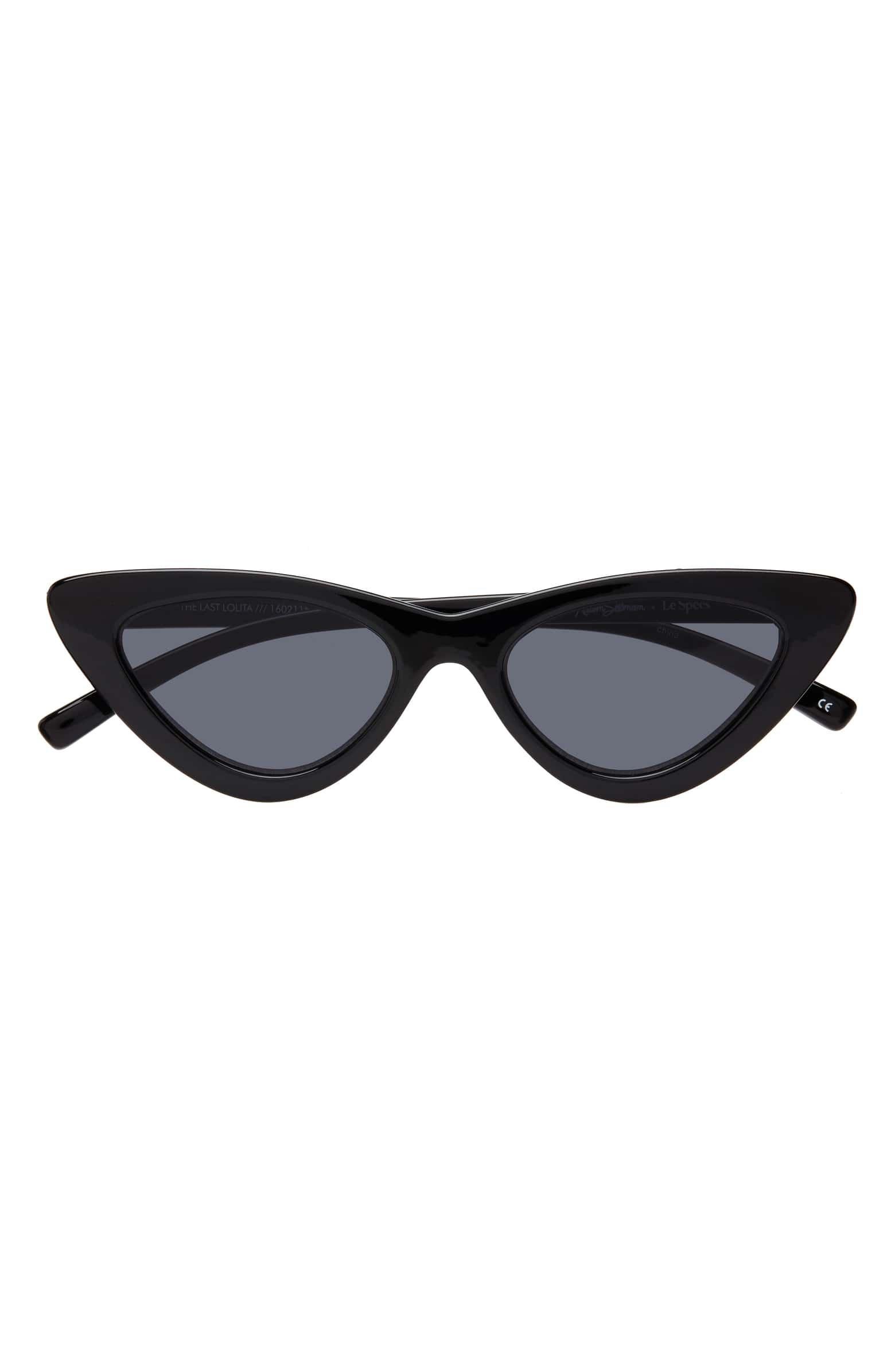 Adam Selman x Le Specs Luxe Lolita 49mm Cat Eye Sunglasses | Nordstrom