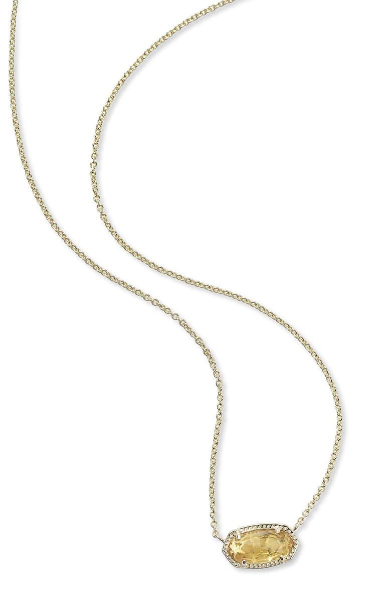 Kendra Scott Elisa Birthstone Pendant Necklace | Nordstrom