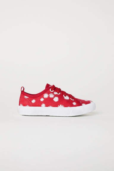 Canvas Sneakers - Red