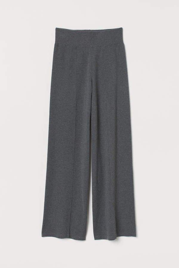 Knit Pants - Gray