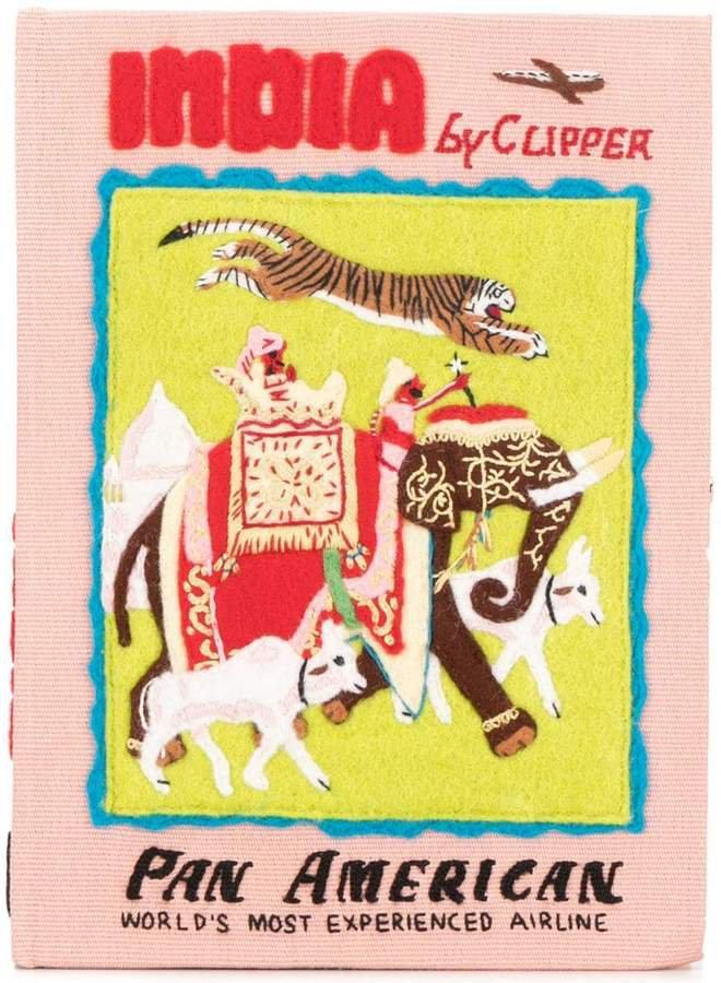 India book clutch bag