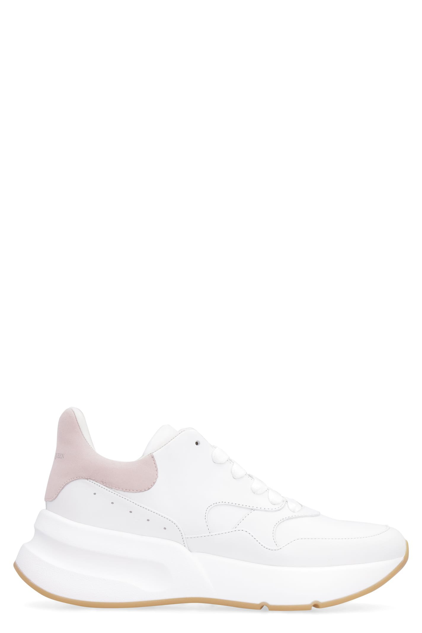 Alexander McQueen Leather Chunky Sneakers