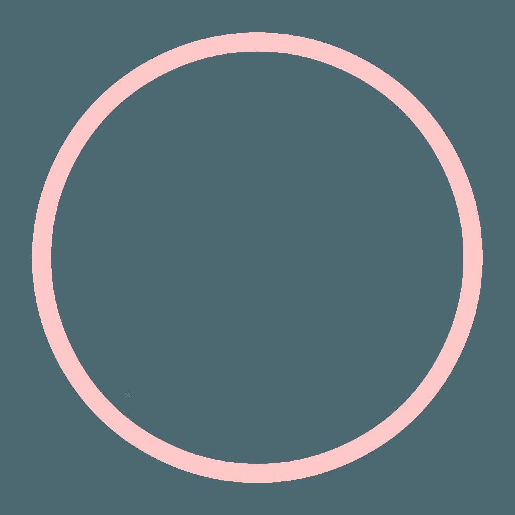 Circle Frame (Light-Pink)