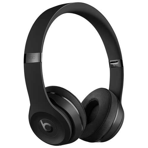 Home : Audio : Headphones : On-Ear Headphones : Product Information Beats by Dr. Dre Solo3 On-Ear Sound Isolating Bluetooth Headphones - Black