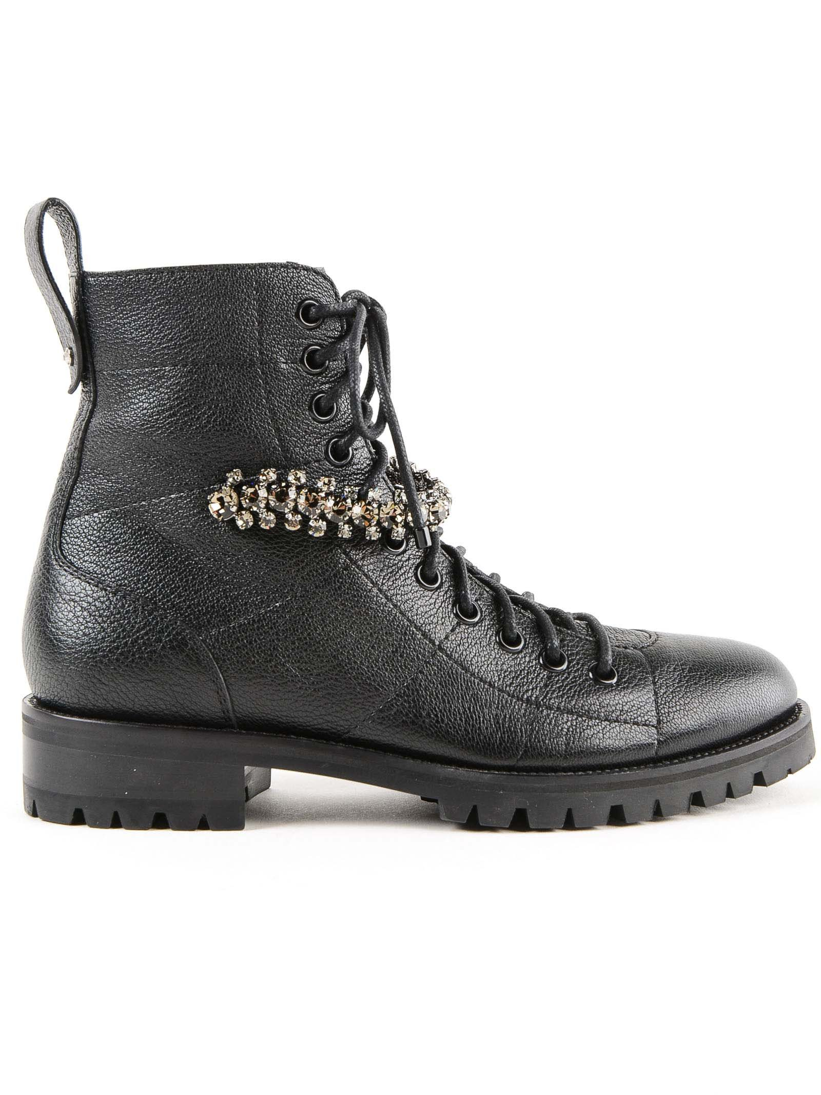 Jimmy Choo Cruz Lace-up Boots
