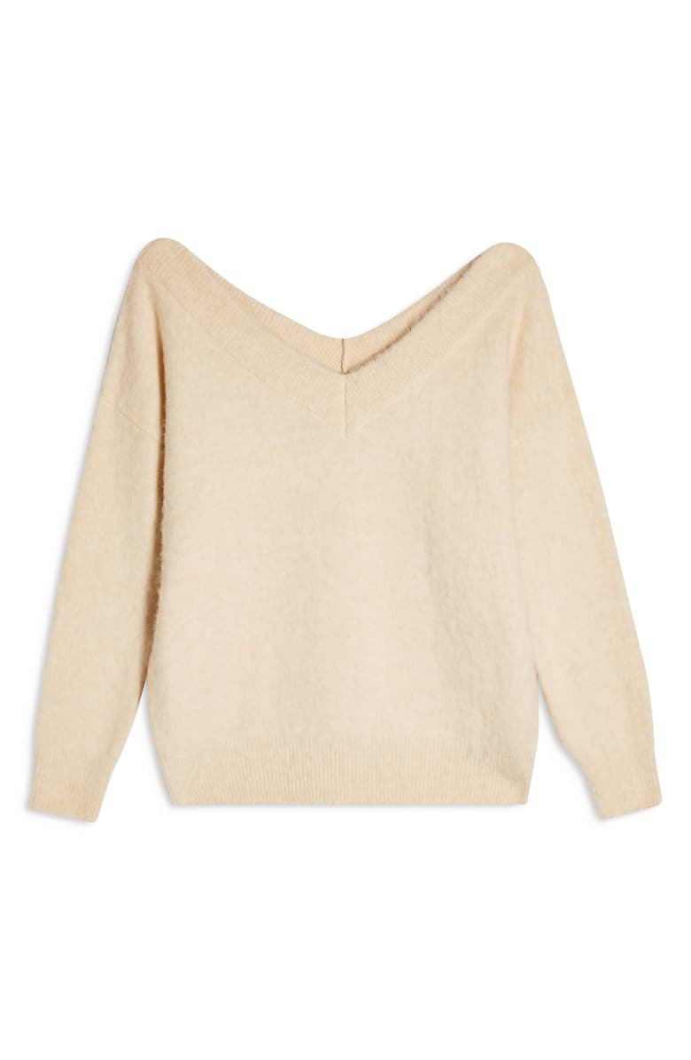 Topshop V-Neck Sweater | Nordstrom