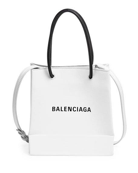 Balenciaga Shopping XXS Calfskin Tote Bag   Neiman Marcus