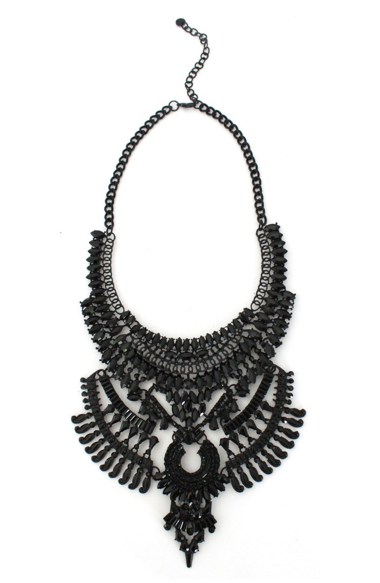 Knotty Jewel Statement Necklace | Nordstrom