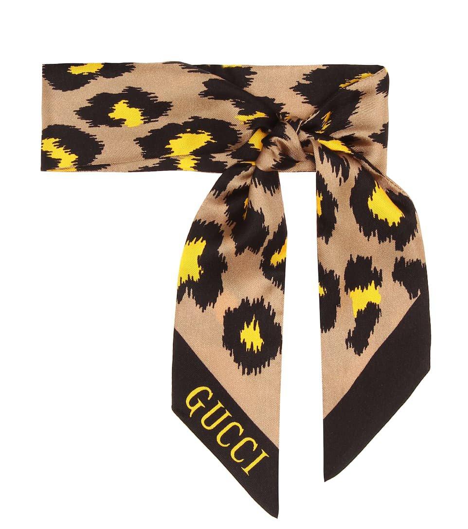 Printed Silk Scarf | Gucci - Mytheresa