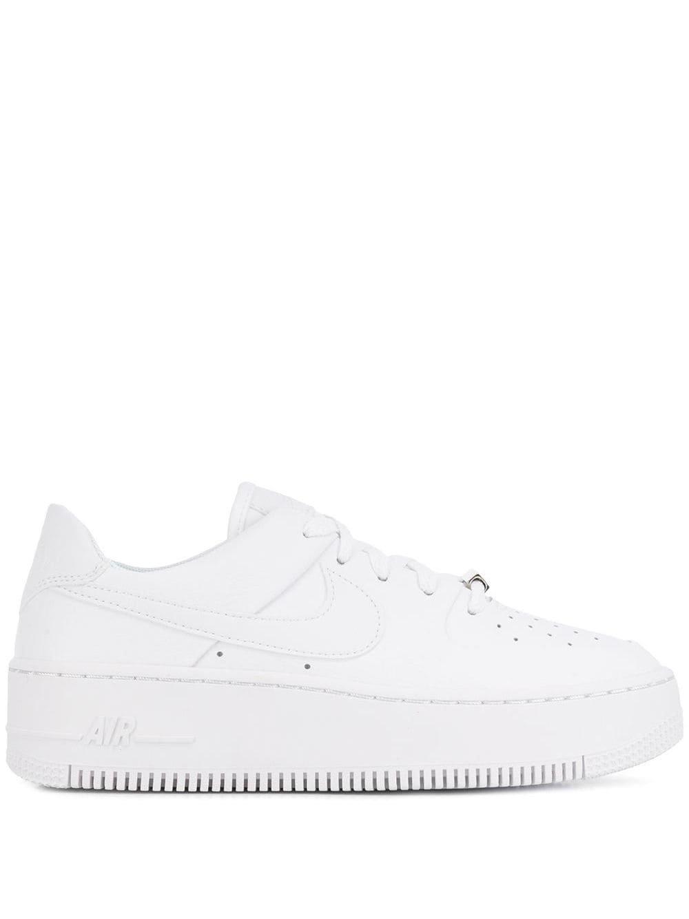 White Nike Air Force 1 Sneakers   Farfetch.com