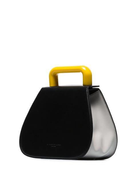 Simon Miller Black Blast Leather Tote Bag - Farfetch