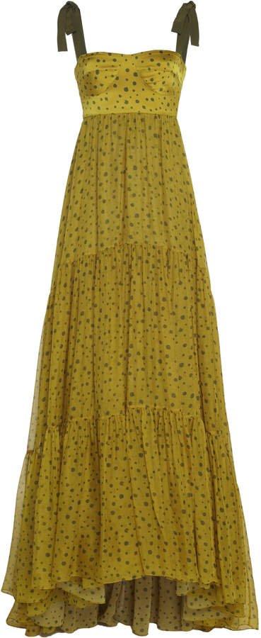 Silvia Tcherassi Momposina Silk Dress Size: S
