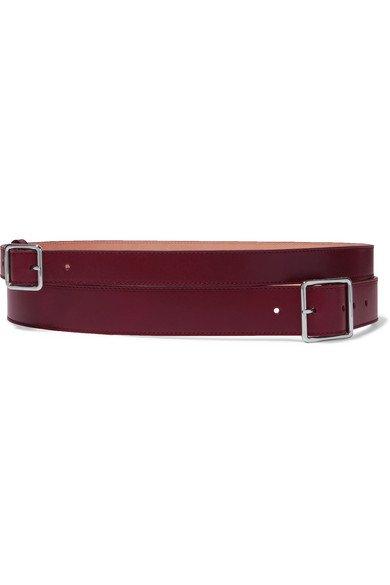 Alexander McQueen | Layered leather belt | NET-A-PORTER.COM