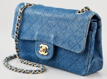 Chanel Quilted Denim Bag - Celebrity Style Guide