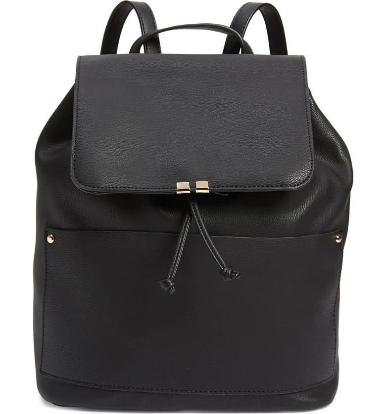 Sole Society Faux Leather Backpack | Nordstrom