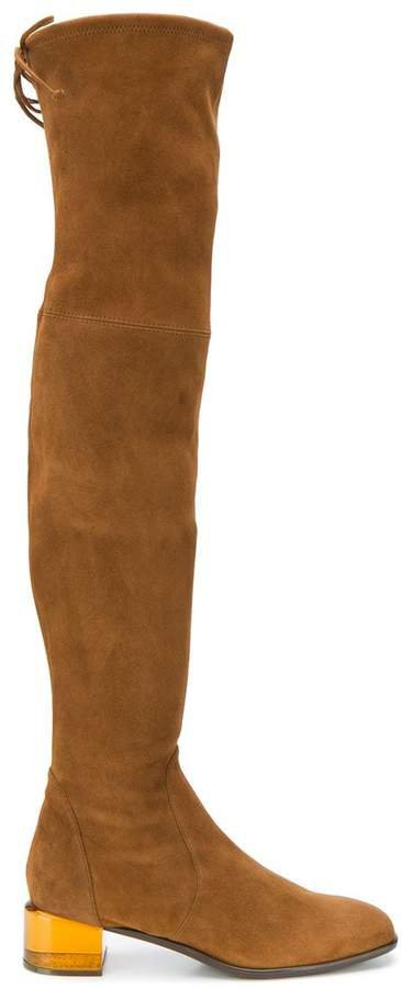 Charolet over-the-knee boots