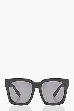 Super Oversized Square Frame Sunglasses