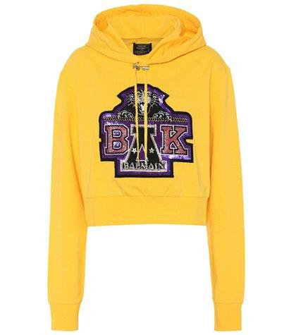 X Beyoncé cropped hoodie