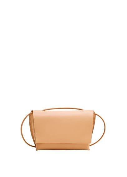 MANGO Leather mini bag
