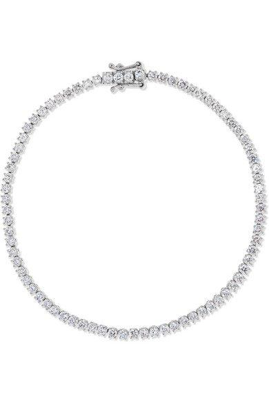 Anita Ko | Hepburn 18-karat white gold diamond bracelet | NET-A-PORTER.COM