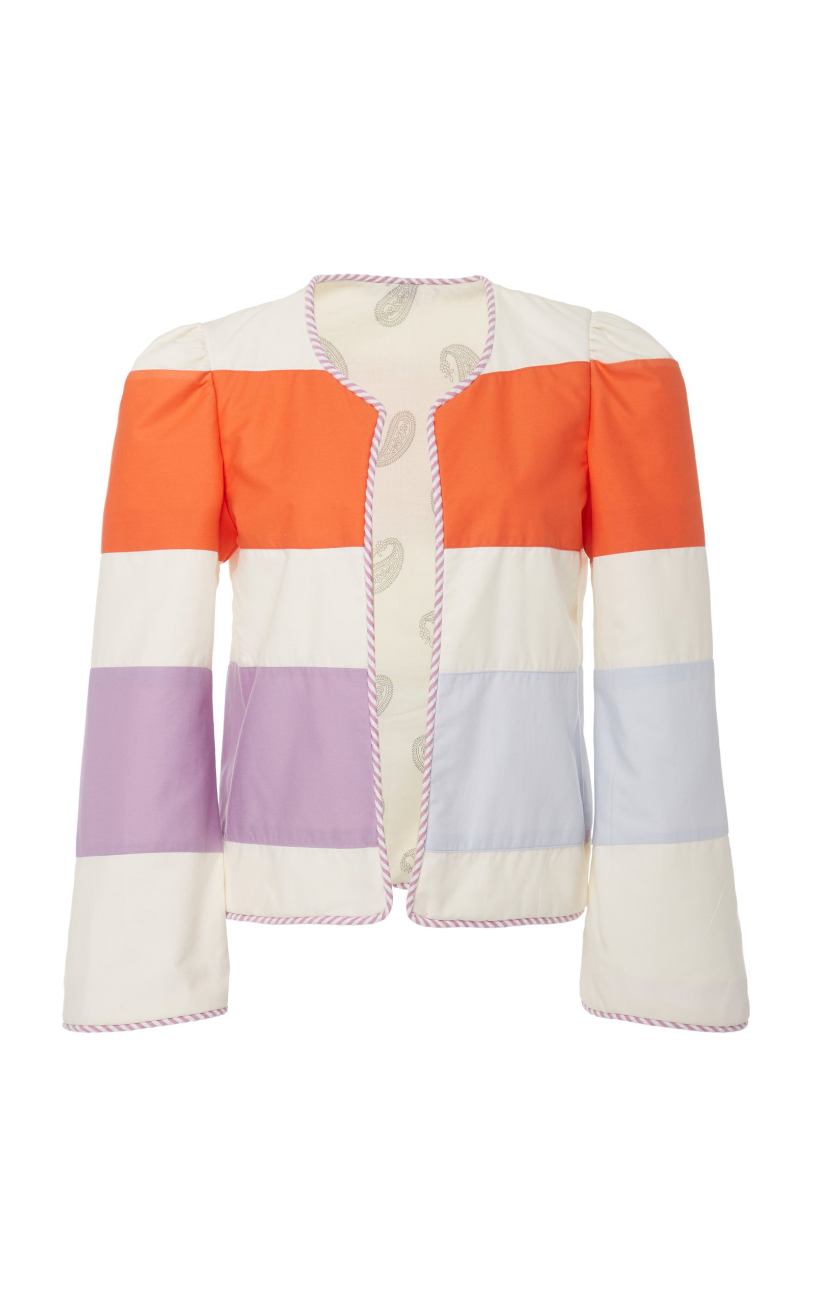 Alix of Bohemia Sunset Striped Cotton Jacket