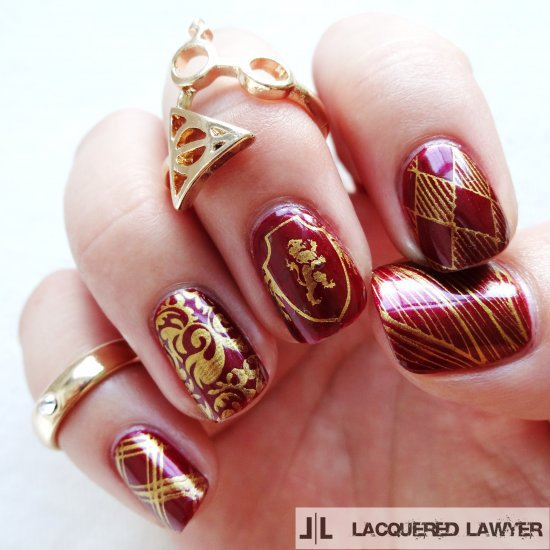 Gryffindor Nails