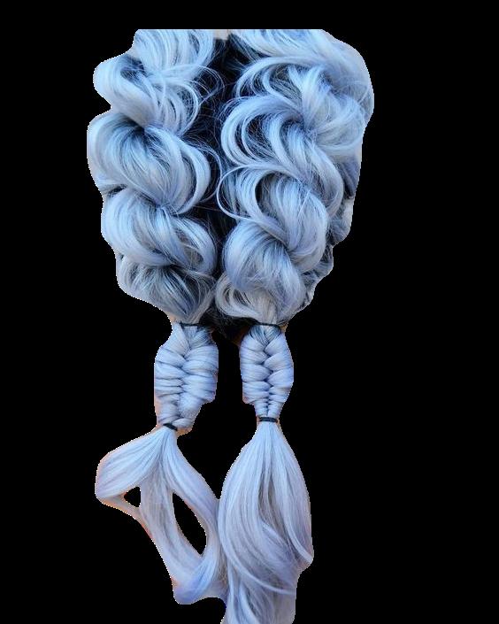 Blue Braids