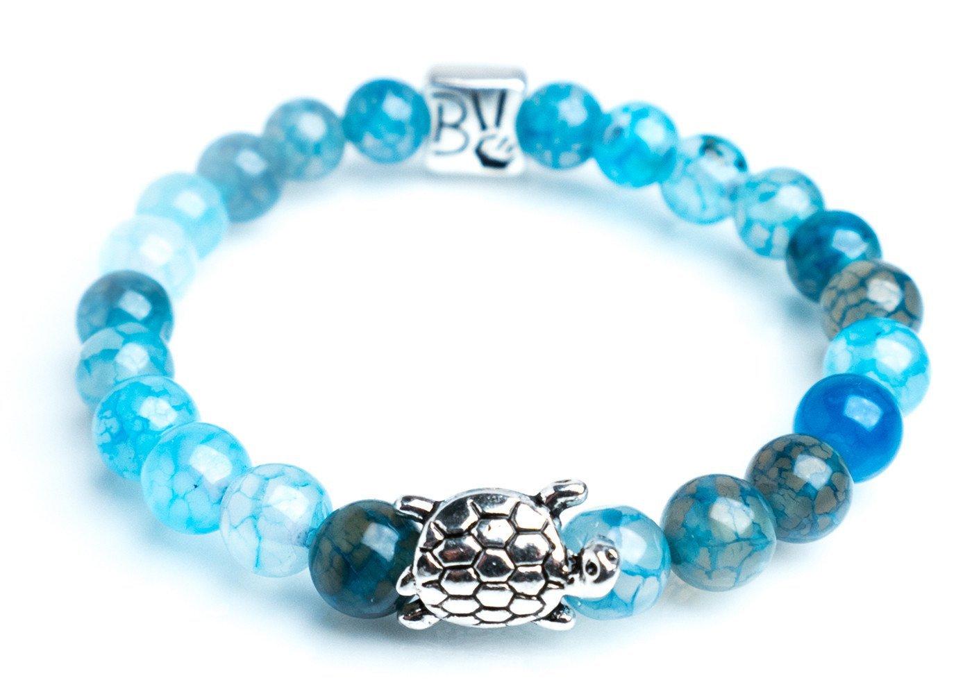 Ocean Blue Sea Turtle Bracelet