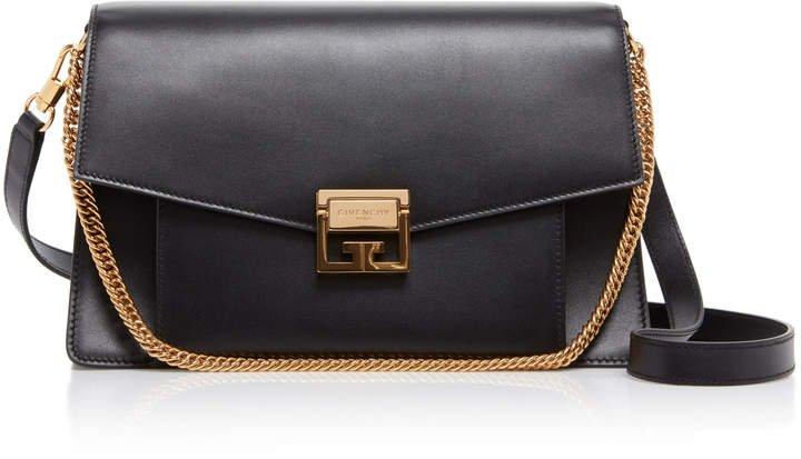 GV3 Leather Shoulder Bag