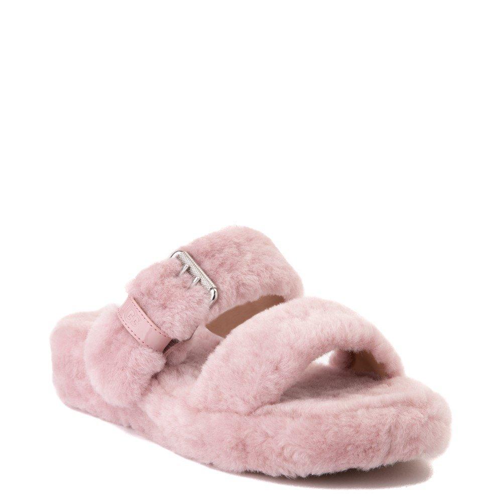 Womens UGG® Fuzz Yeah Slide Sandal | Journeys