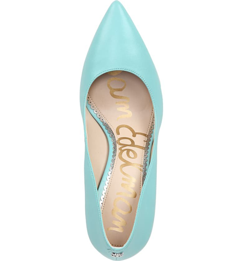 Sam Edelman Hazel Pointy Toe Pump (Women) Blue