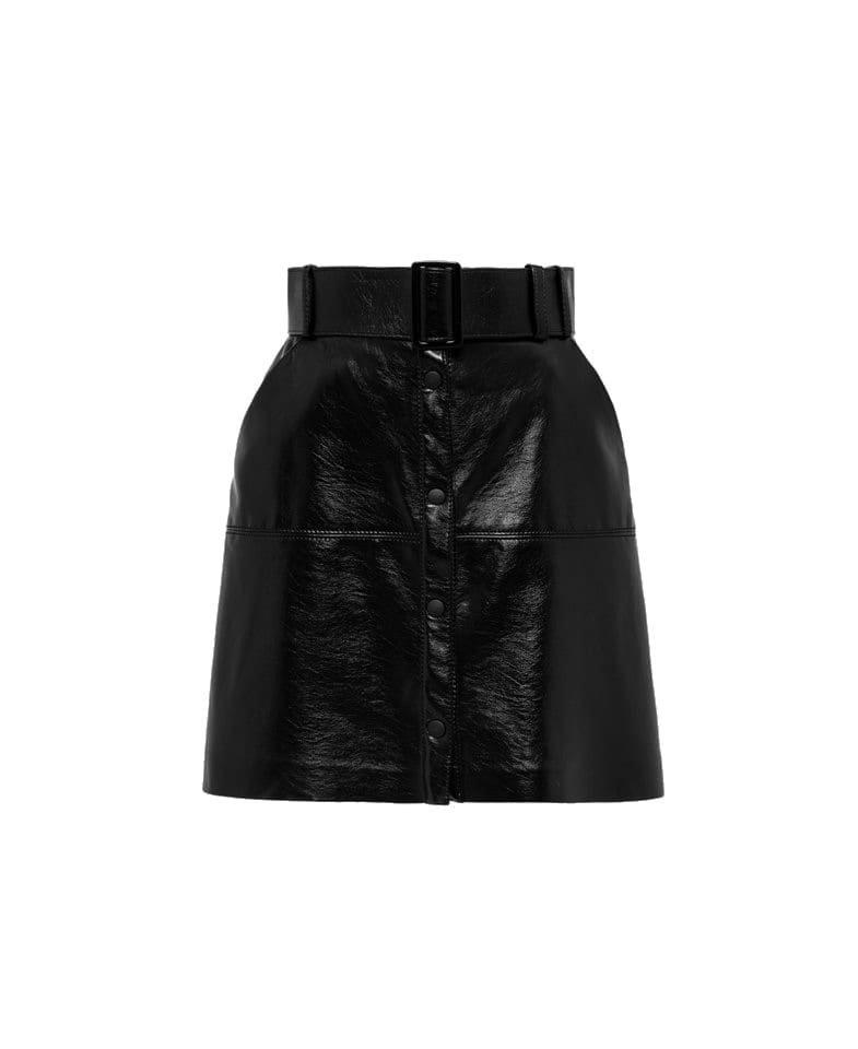 MSGM Metallic Skirt