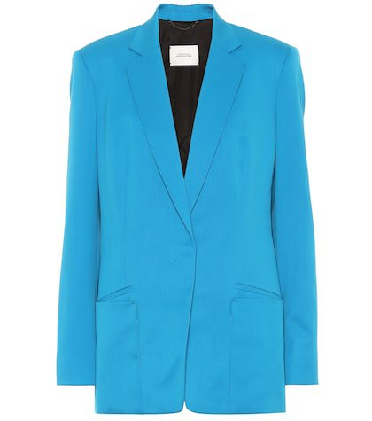 Cool Ambition stretch wool blazer