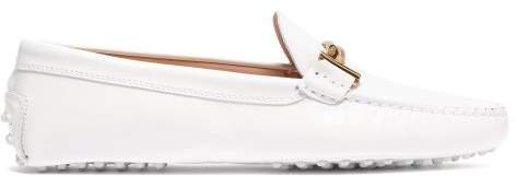 Gommino Patent Leather Loafers - Womens - White