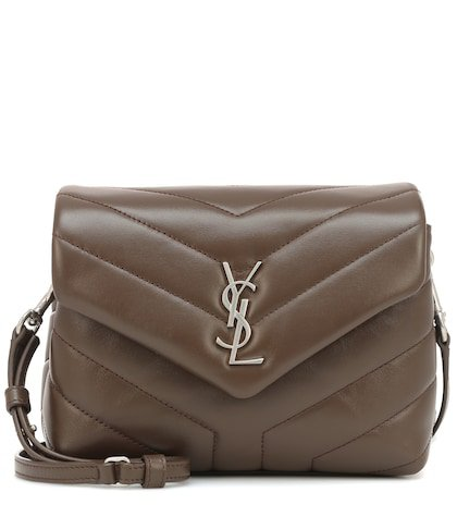 Toy Loulou leather shoulder bag
