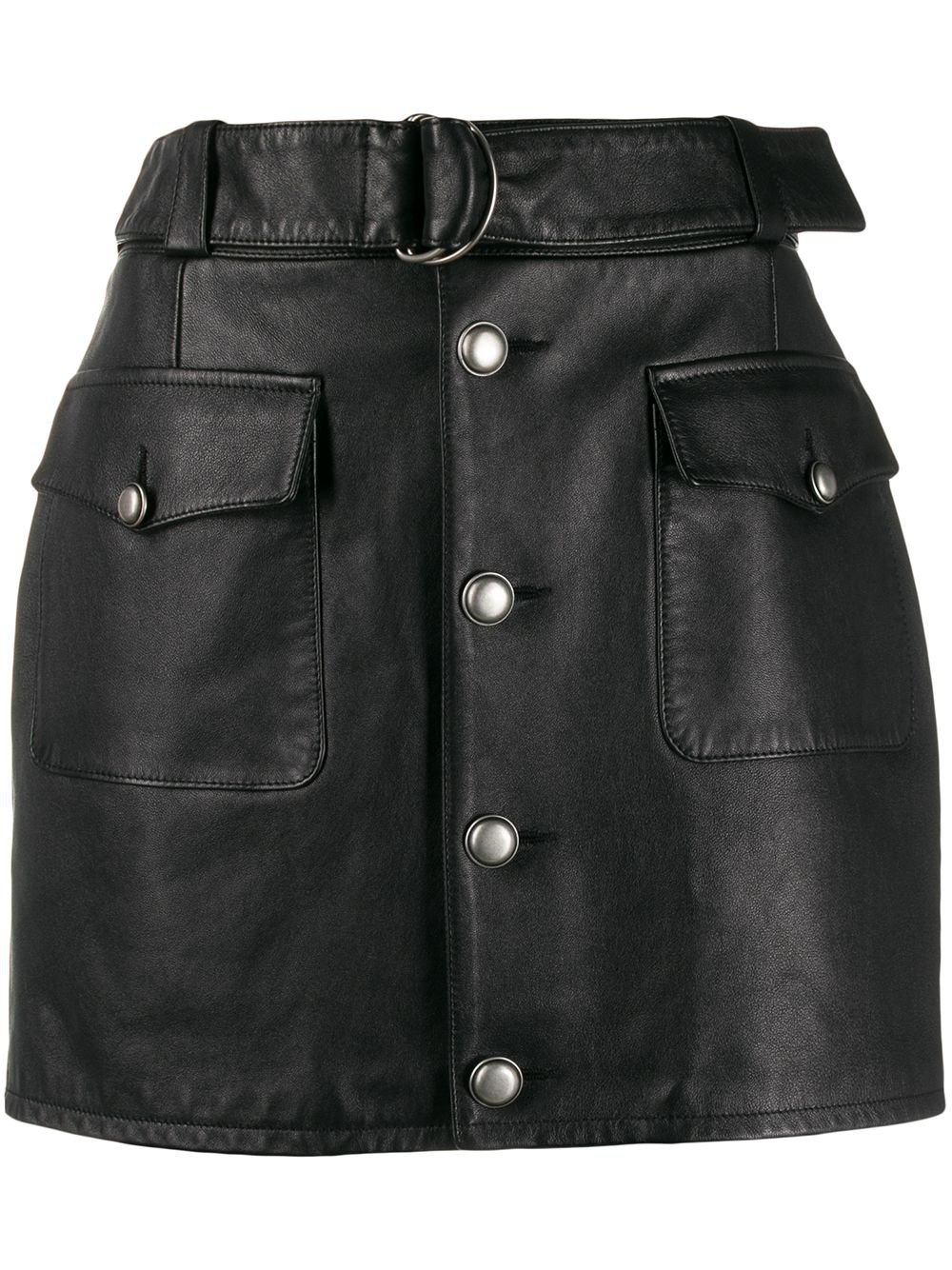 Saint Laurent D-ring Mini Skirt - Farfetch