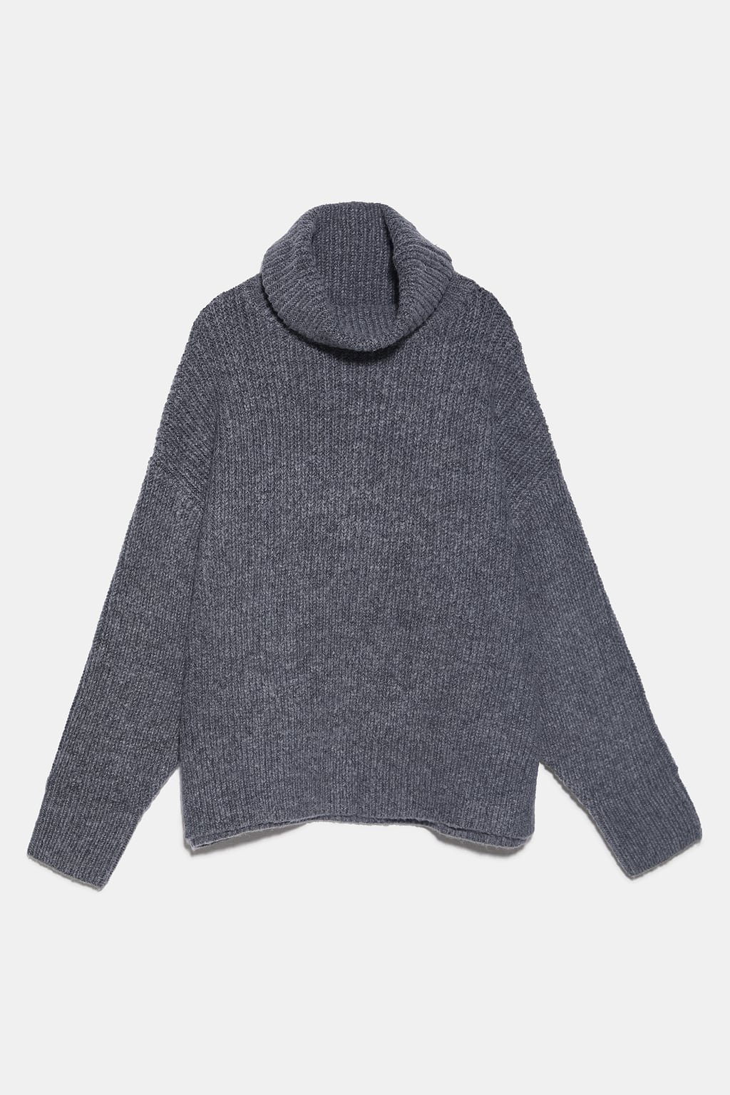 OVERSIZED WOOL AND ALPACA BLEND SWEATER - NEW IN-WOMAN   ZARA United States