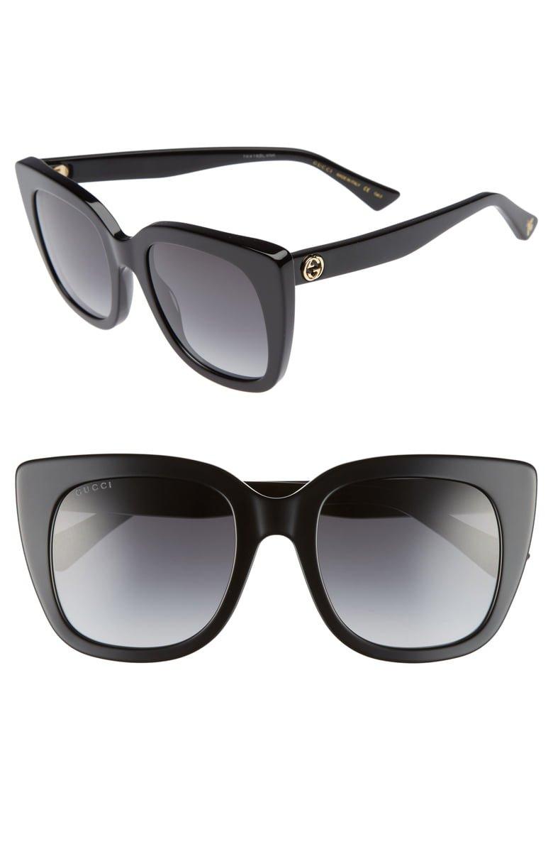 Gucci 51mm Cat Eye Sunglasses   Nordstrom