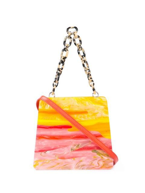 Edie Parker sunset structured tote $837 - Shop SS19 Online - Fast Delivery, Price