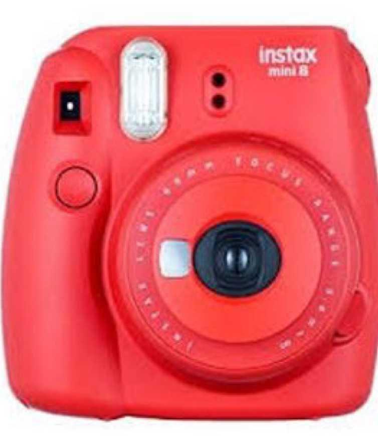 red Polaroid