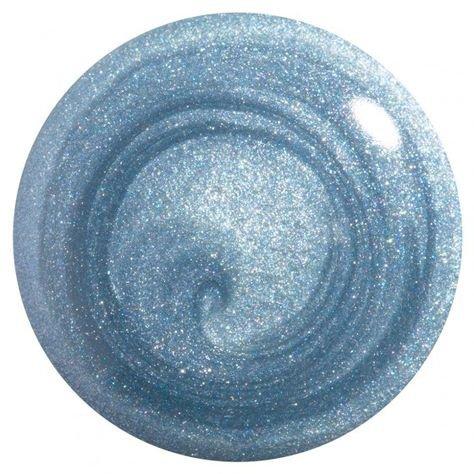 light blue shimmer nail polish filler png