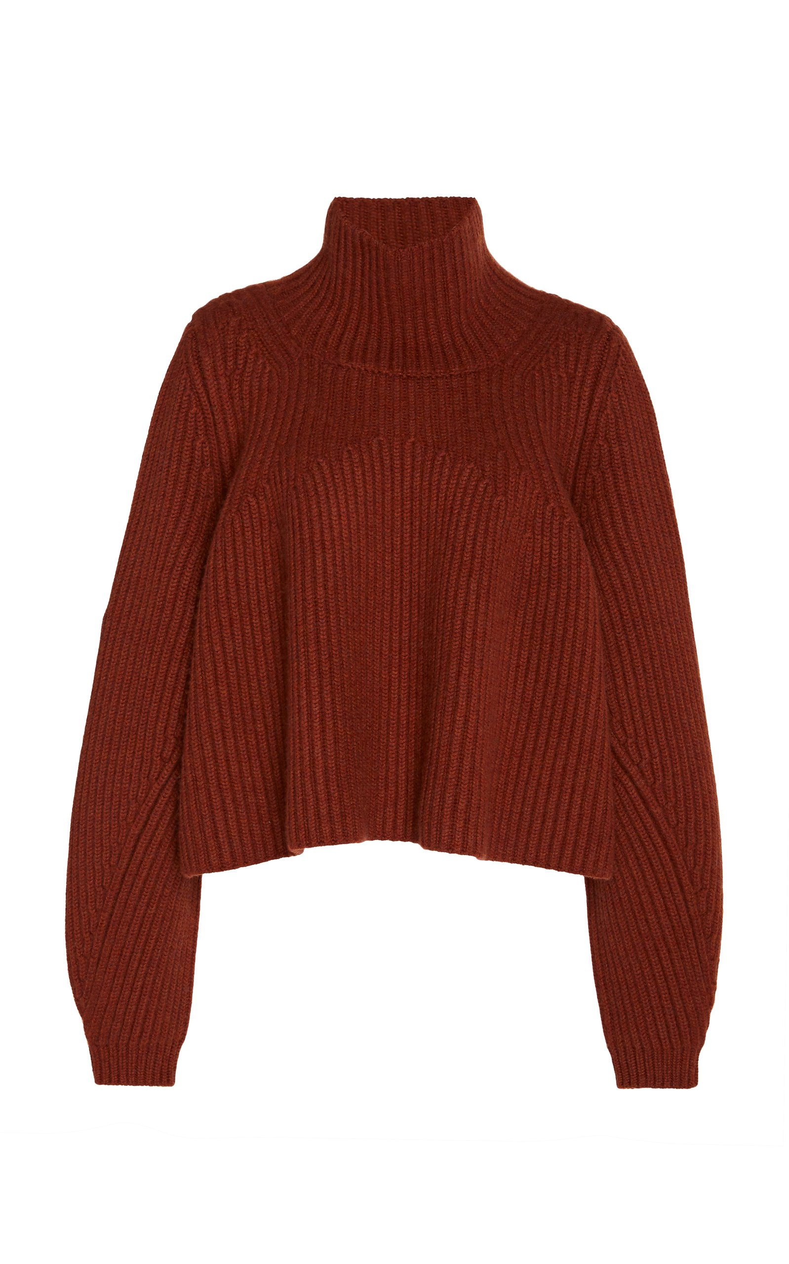 Denney Cashmere Turtleneck Sweater by Khaite | Moda Operandi