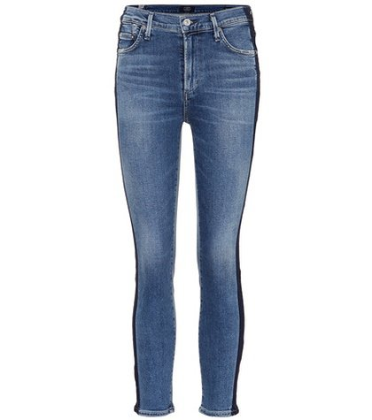 Rocket Crop skinny jeans