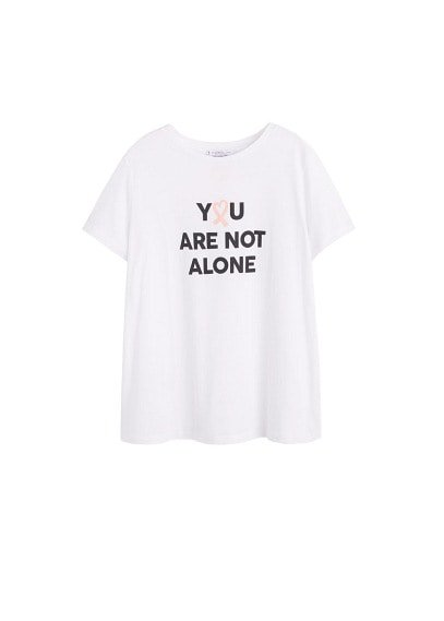 Violeta BY MANGO Solidary t-shirt