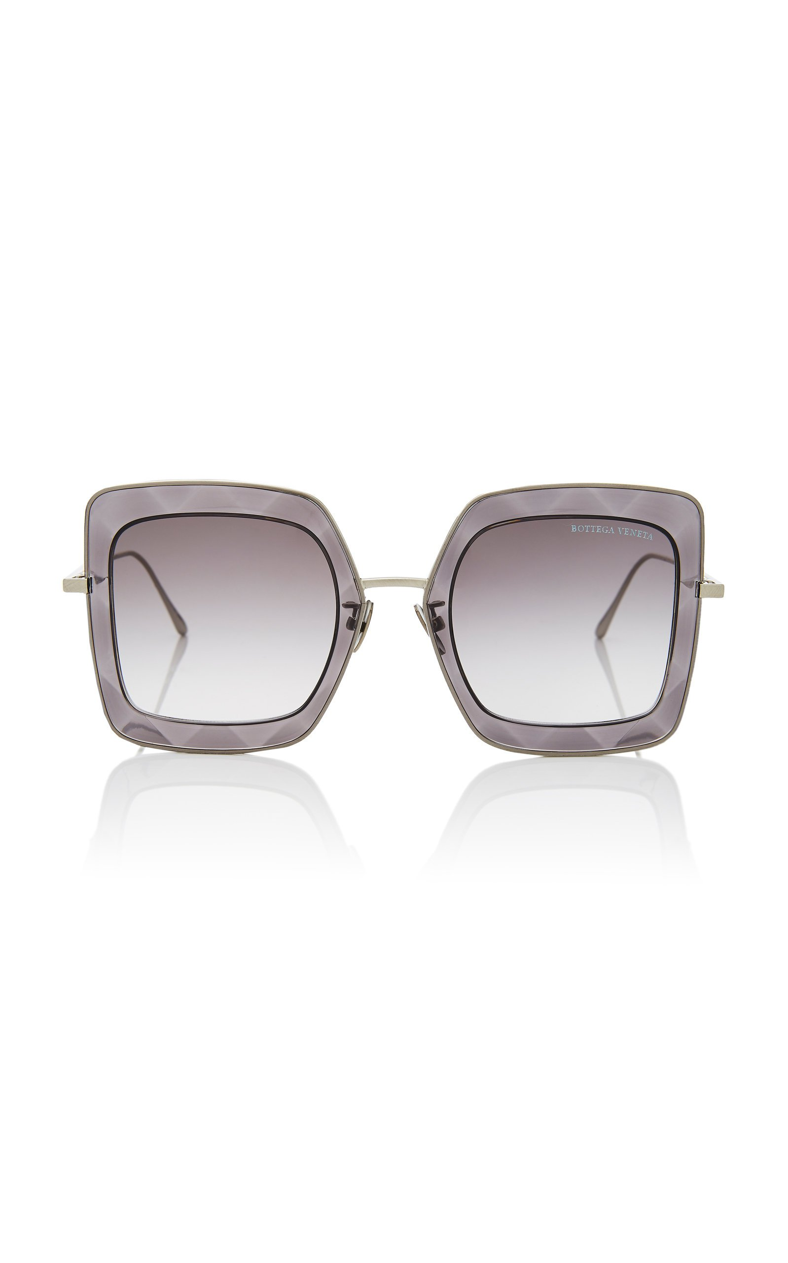Bottega Veneta Oversized Square Sunglasses
