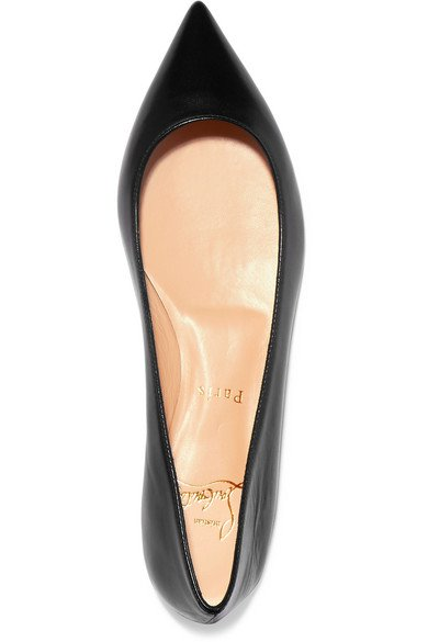wholesale dealer 0cfad 5ea30 CHRISTIAN LOUBOUTIN Ballalla leather ballet flats | ShopLook