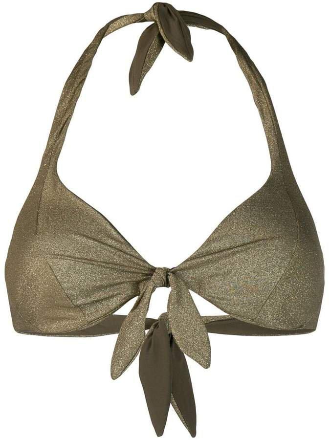 Camille knotted bikini top