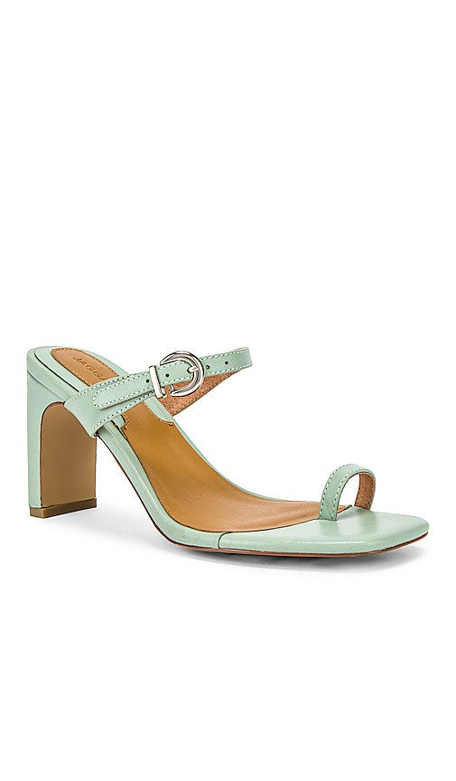 JAGGAR Contemporary Leather Heel in Mint   REVOLVE