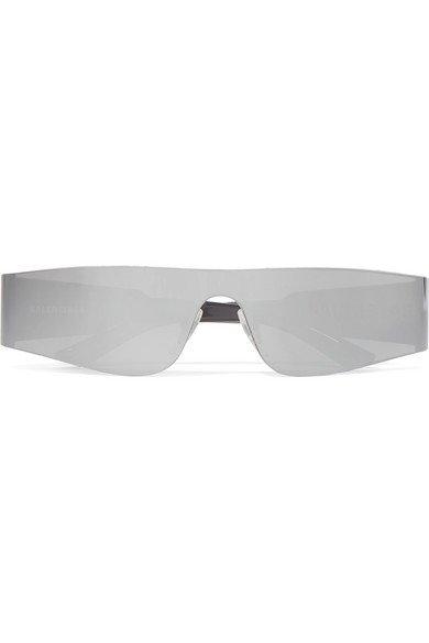 Balenciaga | Square-frame acetate mirrored sunglasses | NET-A-PORTER.COM