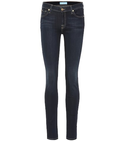 The Skinny B(AIR) low-rise jeans